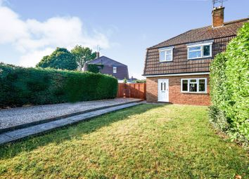Thumbnail 3 bed semi-detached house for sale in Bouverie Road, Hardingstone, Northampton