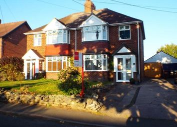 Thumbnail 3 bed semi-detached house for sale in Dig Lane, Wybunbury, Nantwich, Cheshire