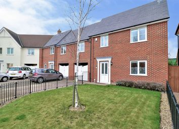 Thumbnail 3 bed end terrace house for sale in Furze Crescent, Alresford, Colchester, Essex