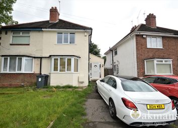 Thumbnail 2 bedroom semi-detached house for sale in Reservoir Road, Selly Oak, Birmingham, West Midlands.