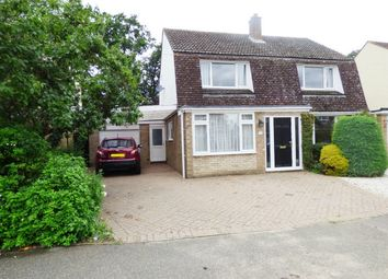 Thumbnail 4 bed detached house for sale in Elm Drive, St.Ives, Cambs