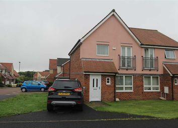 Thumbnail 3 bed semi-detached house for sale in Howard Walk, Barley Rise, Ashington