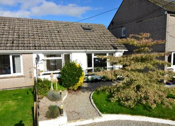 Thumbnail 2 bed semi-detached bungalow for sale in Meadow Road, Lanreath, Nr Looe