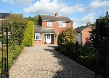 Thumbnail 4 bedroom detached house for sale in Bungay Road, Poringland, Norwich