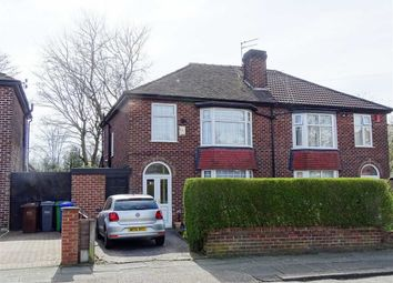 Thumbnail 3 bed semi-detached house for sale in Edilom Road, Crumpsall, Manchester