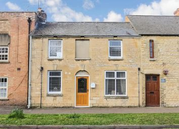 Thumbnail 2 bed terraced house for sale in Carlton Court, Peterborough Road, Castor, Peterborough