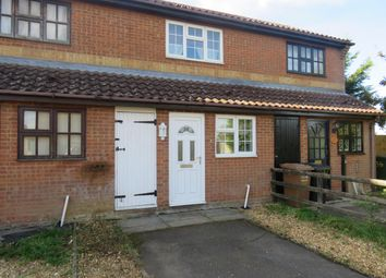 Thumbnail 1 bed terraced house to rent in The Russets, Upwell, Wisbech