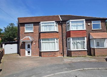 Thumbnail 4 bed semi-detached house for sale in Selsey Drive, East Didsbury, Manchester