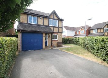 Thumbnail 4 bed detached house for sale in Lawrence Close, Aylesbury
