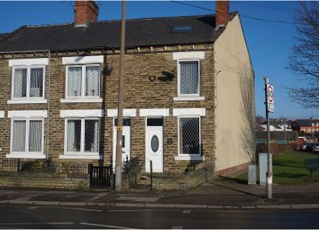 Thumbnail 3 bed end terrace house for sale in Station Road, Rotherham