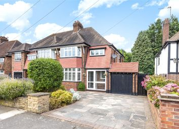Thumbnail 3 bed semi-detached house for sale in Hazelmere Road, Petts Wood, Orpington