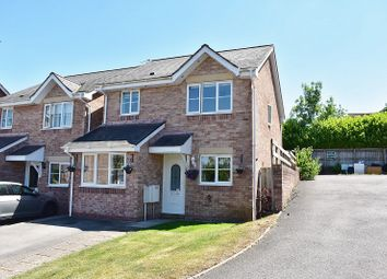Thumbnail 3 bed detached house for sale in Llys Pentre, Broadlands, Bridgend.