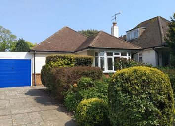 Thumbnail 3 bed detached bungalow for sale in Sea Lane, Goring-By-Sea, Worthing