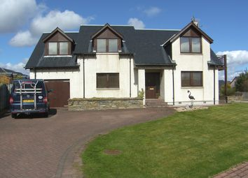 Thumbnail 4 bed detached house for sale in Croftside, Aviemore