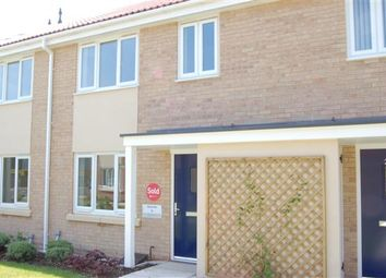 Thumbnail 2 bed terraced house to rent in Becketts Close, Saxon Village, Grantham