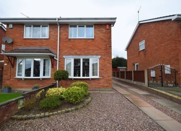 Thumbnail 2 bed semi-detached house for sale in Kilsby Grove, Milton, Stoke-On-Trent