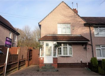 Thumbnail 2 bedroom end terrace house for sale in Meadow Road, Dudley
