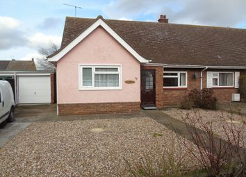 Thumbnail 3 bed semi-detached bungalow to rent in Lulworth Avenue, Ipswich
