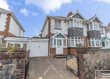 Thumbnail 3 bed semi-detached house for sale in Chatsworth Road, Torquay