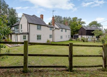 Thumbnail 4 bedroom detached house for sale in Thurlow Road, Withersfield, Haverhill, Suffolk