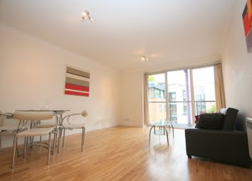 Thumbnail 1 bed flat to rent in Boardwalk Place, London