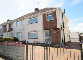 Thumbnail 3 bedroom semi-detached house for sale in Knightswell Road, Cardiff
