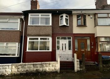 Thumbnail 3 bed terraced house for sale in Gorton Road, Old Swan, Liverpool