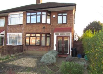 Thumbnail 3 bed semi-detached house to rent in High Road, Chadwell Heath, Romford