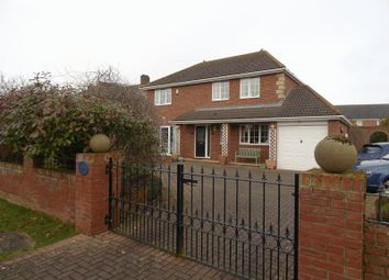 Thumbnail 4 bed detached house for sale in Acklington Road, North Broomhill, Morpeth