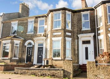 Thumbnail 4 bed terraced house for sale in Lowestoft Road, Gorleston, Great Yarmouth