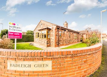 Thumbnail 2 bed detached bungalow for sale in Hadleigh Green, Burringham, Scunthorpe