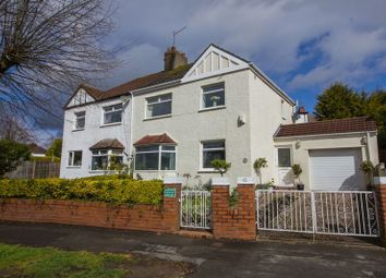 Thumbnail 3 bed semi-detached house for sale in Coleridge Avenue, Penarth