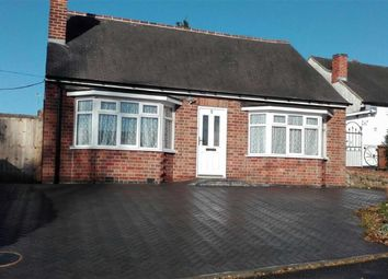 Thumbnail 2 bed detached bungalow for sale in Wallace Drive, Groby, Leicester