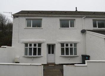 Thumbnail 4 bed semi-detached house for sale in Glen Garriff Cottages, Reservoir Road, Beaufort, Blaenau Gwent