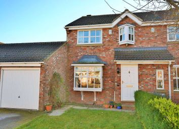 Thumbnail 3 bed semi-detached house for sale in Walton Chase, Thorp Arch, Wetherby, West Yorkshire