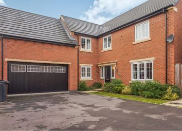 Thumbnail 5 bed detached house for sale in Eatough Close, Syston