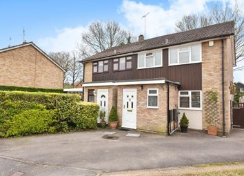 Thumbnail 3 bed semi-detached house for sale in Well Close, Camberley