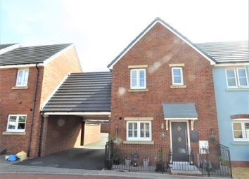 Thumbnail 2 bed semi-detached house for sale in Lon Yr Ardd, Coity, Bridgend.