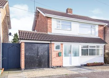 Thumbnail 3 bed detached house for sale in Tysoe Hill, Glenfield, Leicester, Leicestershire