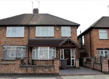 Thumbnail 3 bedroom semi-detached house to rent in Lydford Road, Leicester