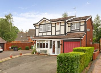 Thumbnail 4 bed detached house for sale in The Delph, Stirchley, Telford