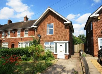 Thumbnail 3 bedroom end terrace house for sale in Audley Road, Birmingham