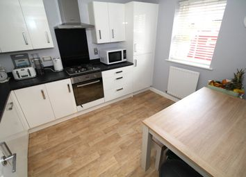 Thumbnail 4 bed semi-detached house for sale in Midsummer Grove, Great Denham, Bedford, Bedfordshire