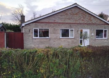 Thumbnail 3 bed semi-detached bungalow for sale in Hockland Road, Tydd St. Giles, Wisbech