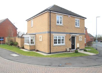 Thumbnail 3 bed detached house for sale in Mulberry Way, Hinckley