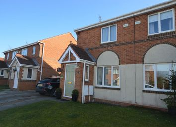 Thumbnail 2 bed semi-detached house to rent in Meadow Green, Spennymoor