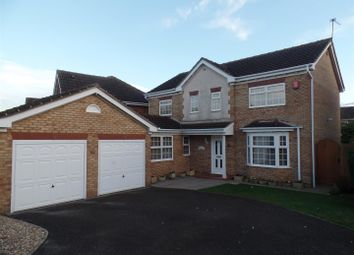 Thumbnail 4 bed detached house for sale in Westcroft Drive, Saxilby, Lincoln