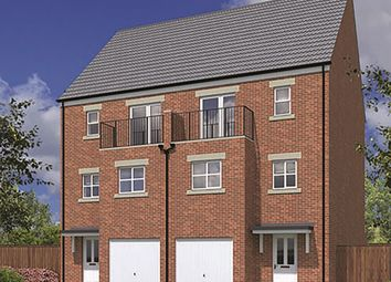 "Thumbnail 3 bedroom town house for sale in ""The Peverell"" at Peases Cottages, South Terrace, Darlington"
