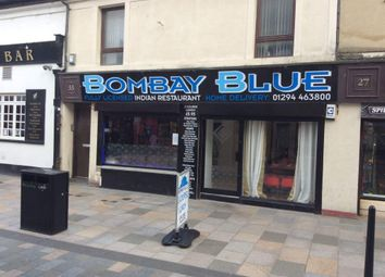 Thumbnail Restaurant/cafe for sale in Kirkgate, Saltcoats