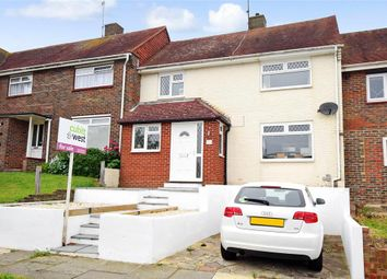 Thumbnail 2 bed terraced house for sale in Stanstead Crescent, Woodingdean, Brighton, East Sussex